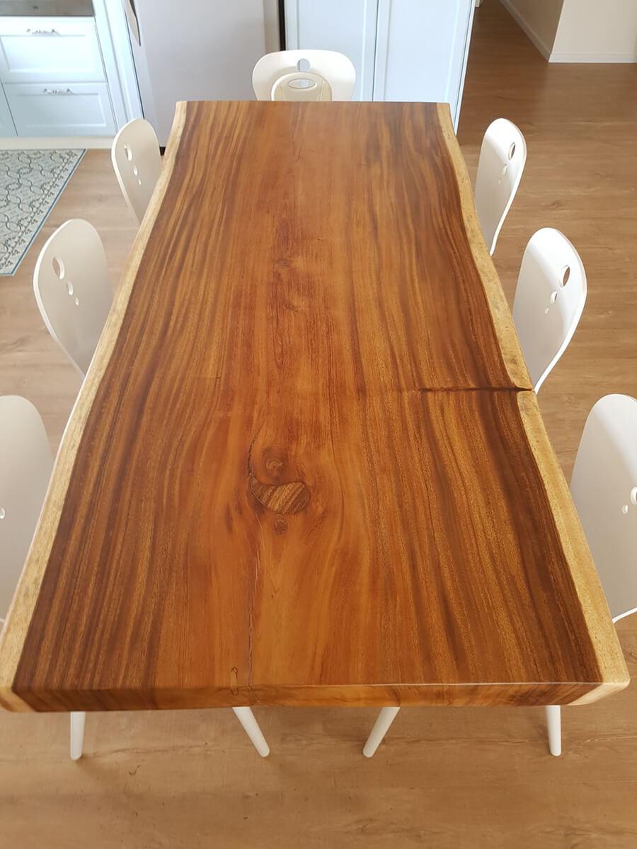 שולחן גזע פרוס 2.5 מ'
