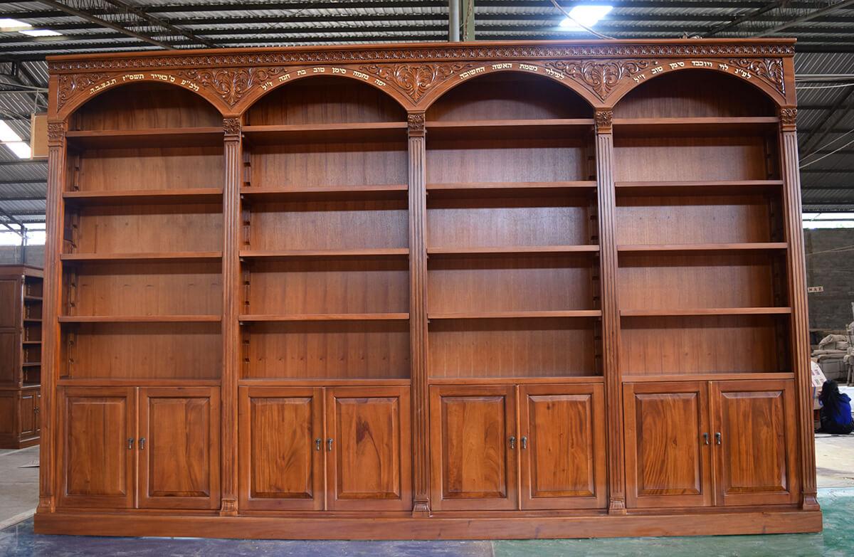 ספריית קודש קשתות מעוגלות