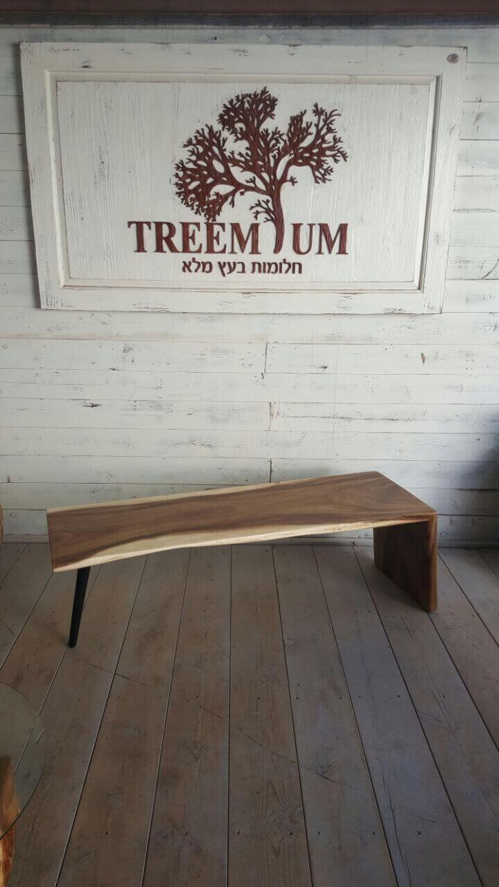 שולחן סלון פרוסה גזע