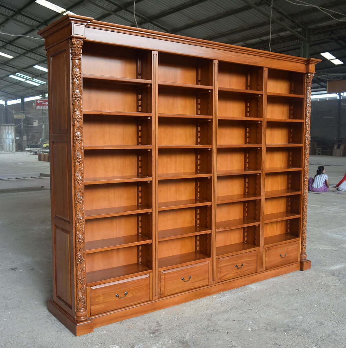 ספריית קודש עץ מלא