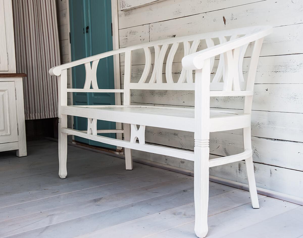 betawi bench rustic