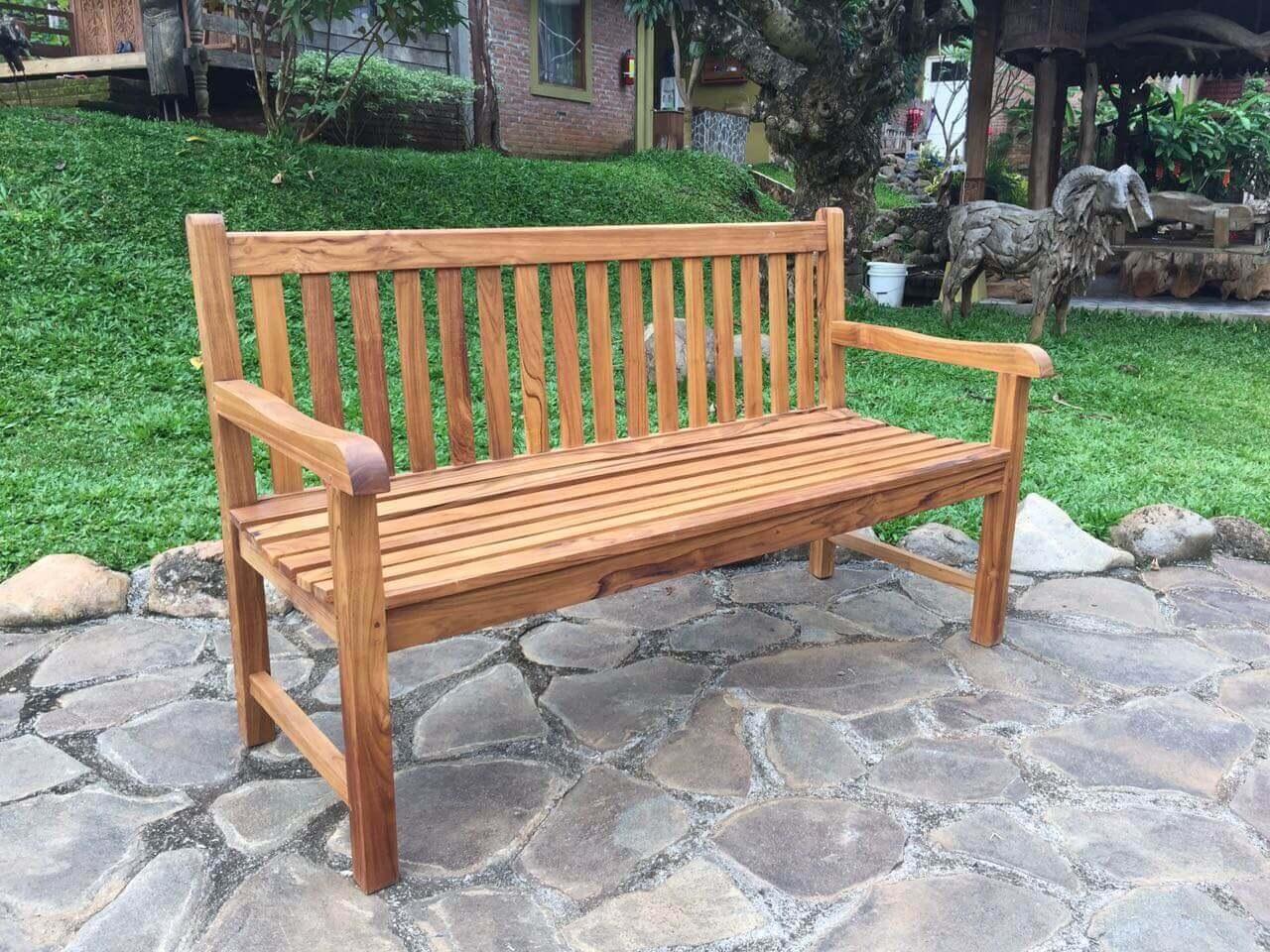 garden bench teak