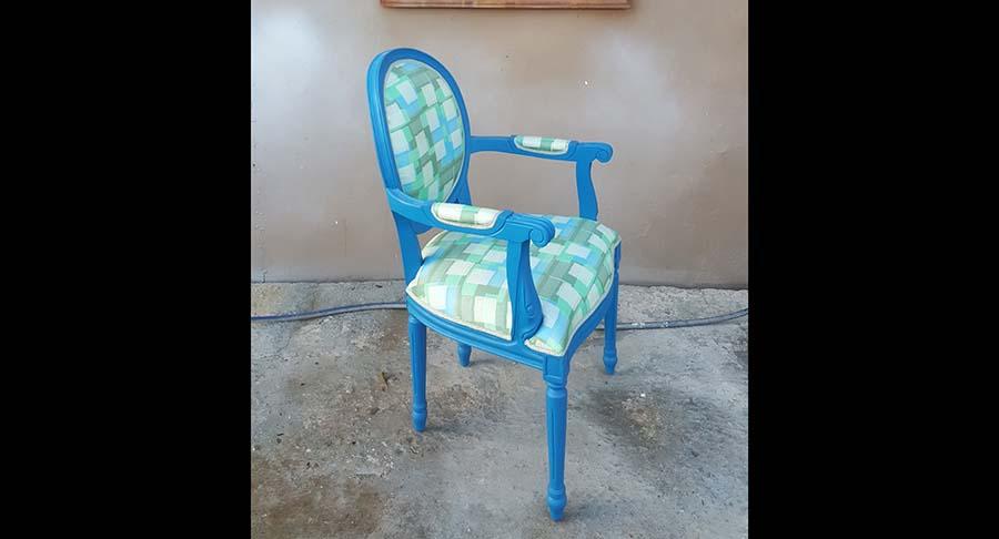 """כיסא ידיות וינטג' מדליק במחיר מבצע: 1200 ש""""ח במקום 1800 ש""""ח"""