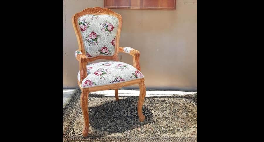 """כיסא ידיות מפואר במחיר מבצע: 1800 ש""""ח במקום 2400 ש""""ח"""