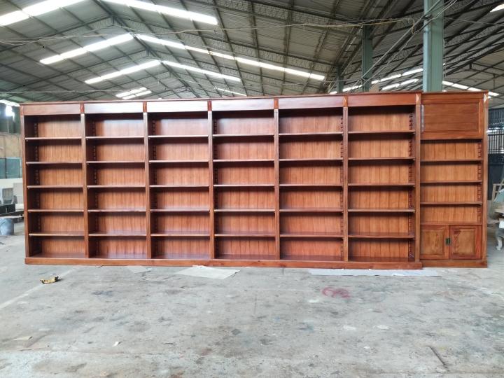 ספריית קודש עץ מלא דגם 2498