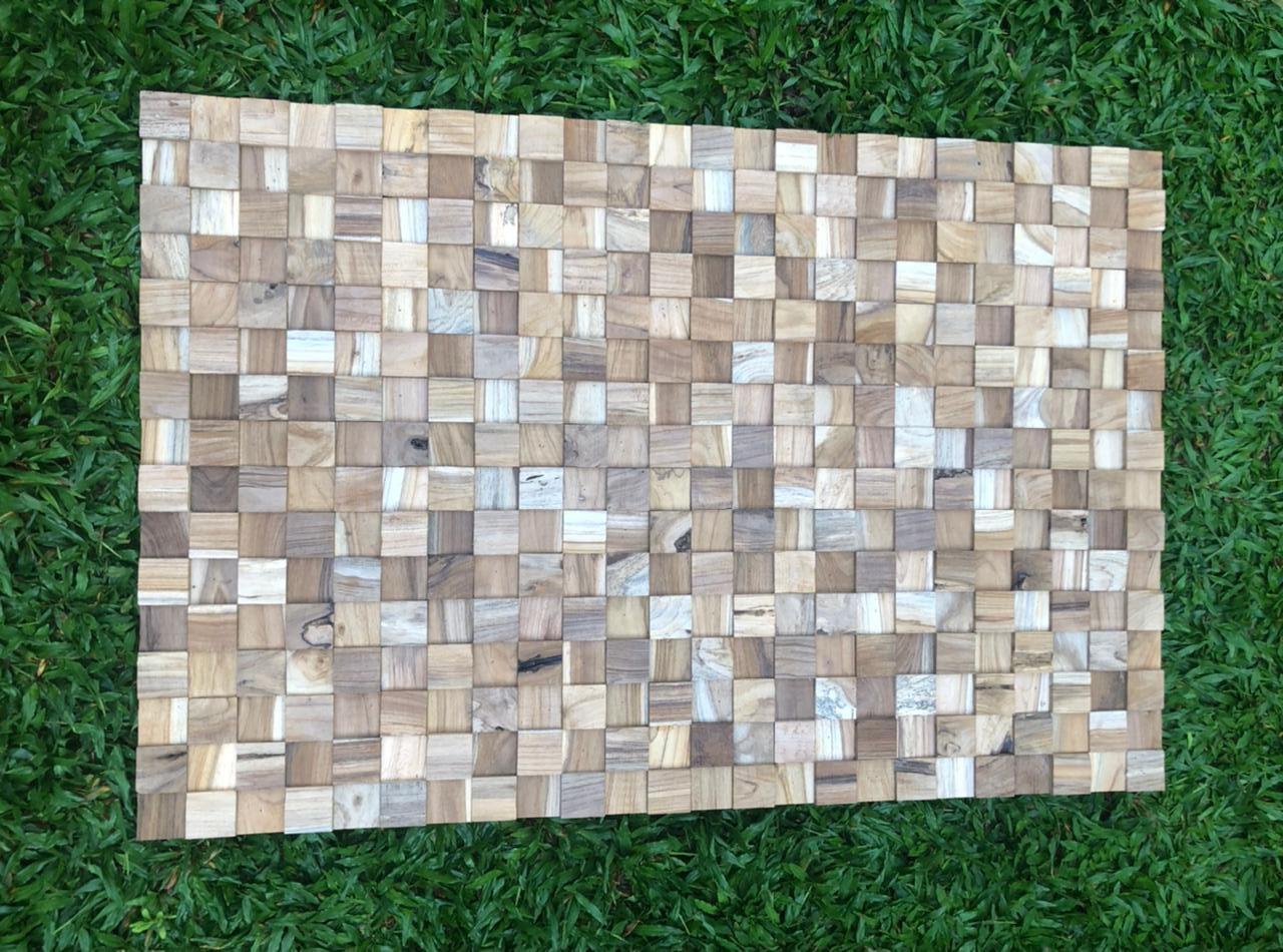 """תמונת קיר מעוצבת עץ טיק במחיר מבצע: 990 ש""""ח"""